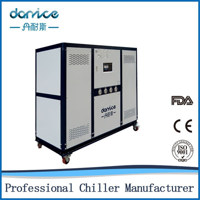 Top Quality Environmental Friendly Refrigerant R410a 30HP Industrial Chiller Equipment