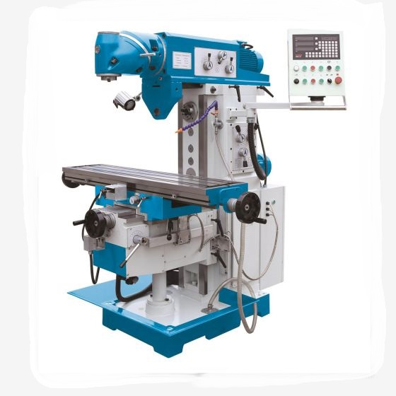 XQ6432A China factory sales universal milling machine price with X/<strong>Y</strong>/Z axis auto-feeder