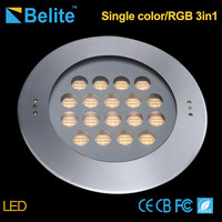 54W Stainless Steel 316 RGB IP68 led underwater swimming pool light