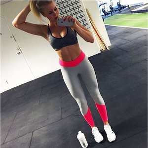 Yiaho New Arrival Women Running GYM Stretch Elastic Compression Tights Sport Fitness Yoga Pants Women Quick Dry Leggings