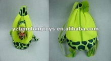 2012 hot sale! kids cheap and innovative snake plush backpack
