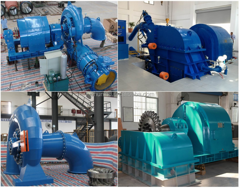Water Generator for Small Hydro Power Plant / Water Turbine Generator Unit