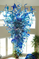 Chihuly Style Hand Blown Murano Glass chandelier, glass ceiling Pendent Light