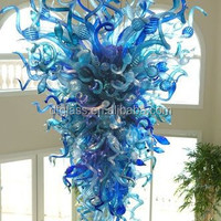 Chihuly Style Hand Blown Murano Glass
