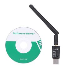 300Mbps Mini USB WiFi Adapter 2.4G Wireless Network WLAN Card with Antenna IEEE 802.11n/g/b for Windows 2000/XP/Vista/7/8
