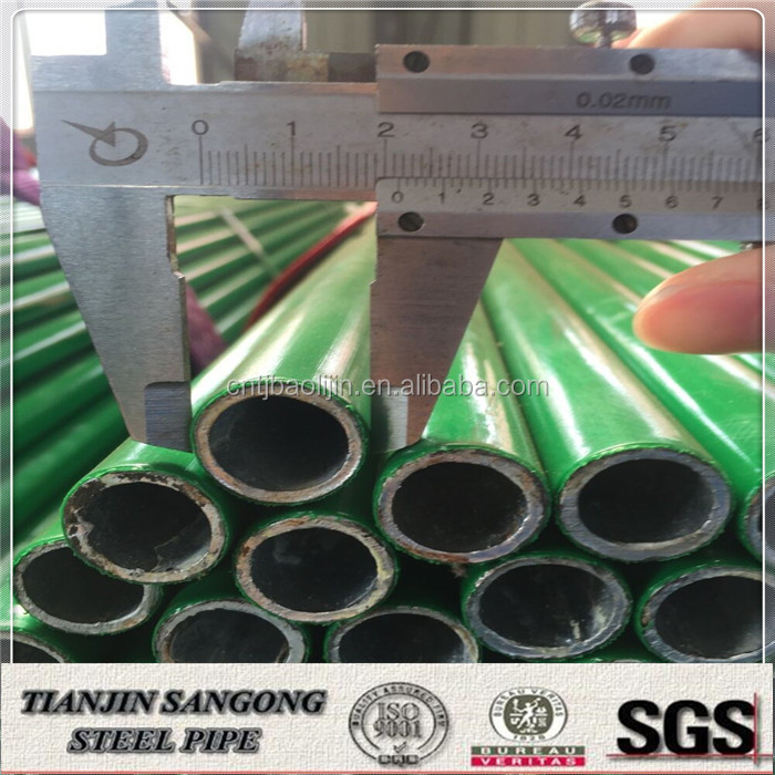ESD colored 3pe layer coated welded steel pipe