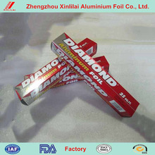 food packaging paper Household aluminum foil with embossed and roll