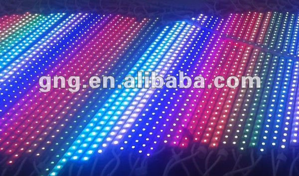 DMX led linear light rgb with Art-net Madrix software