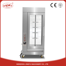 Chuangyu New Arrival Visual Gas Cooking Commercial 360 Rotary Pig Roasting Stainless Steel Oven