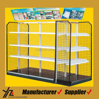 Automotive Supplies Supermarket Shelf with Iron Wire Backboard