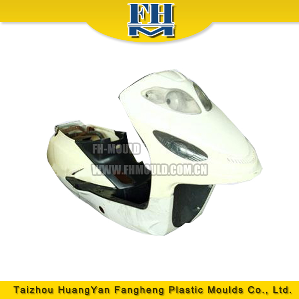 Zhejiang Taizhou injection plastic electric motorcycle parts mould manufacturer