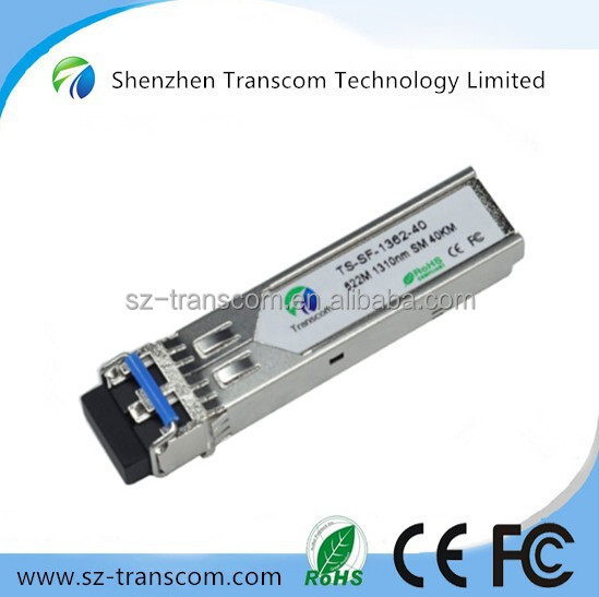 Transceiver Module 622M SFP 40KM Fiber Optics/ 622M 1310nm sfp 40km/SFP 622m Transceiver 40km 1310nm SFP