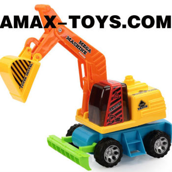 fct-15820187 cartoon friction truck brand new children friction excavator
