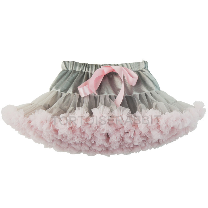 green red tulle princess tutu pettiskirt/blue shell 30 color women mesh princess dress/ dancing pettiskirt