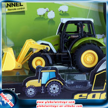 WLtoys remote control toy tractor/excavator for kids above 6 years old