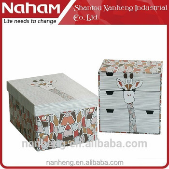 NAHAM House Carton Organizer Folding Recyclable Carton Box