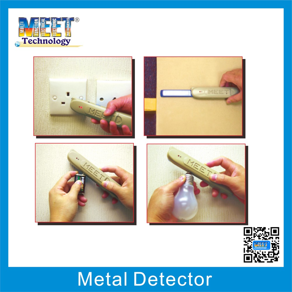 MS-158M Digital Multifunction Metal Detector with NCV Detection