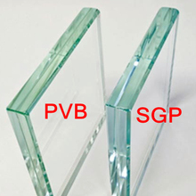 China manufacturer ultra clear colorless SGP interlayer tempered Laminated safety glass price