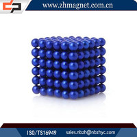 high quality 216pcs strong 5mm ball magnet in a box