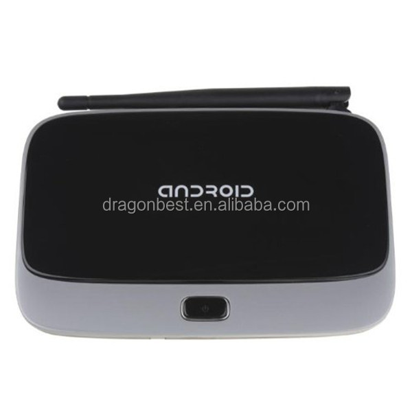 New deign WIFI BT Google 4.2 Quad-core RK3188 Android Smart TV Box CS918 2G 8G H D M I RJ45