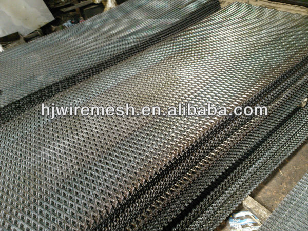 railroad bridge expanded metal mesh/ Railway bridge steel mesh