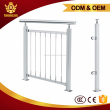 Balcony Customized Wire Balustrade Stainless Steel Stair Railing Post