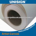 High quality 100% polyester plastic canvas on roll