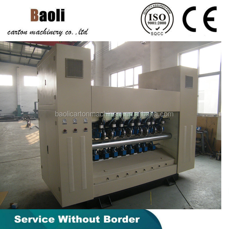 Baoli BFY-BW 1600MM LIFT-DOWN TYPE SLITTER SCORER/BFY slitting machine/slitting and rolling line machine