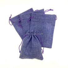 Cotton Linen Drawstring Pouches Jewelry Packaging Small Drawstring Bags
