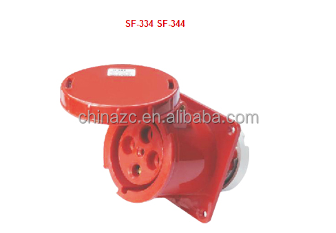 4p 63a 125a SF-334 Hide direct socket