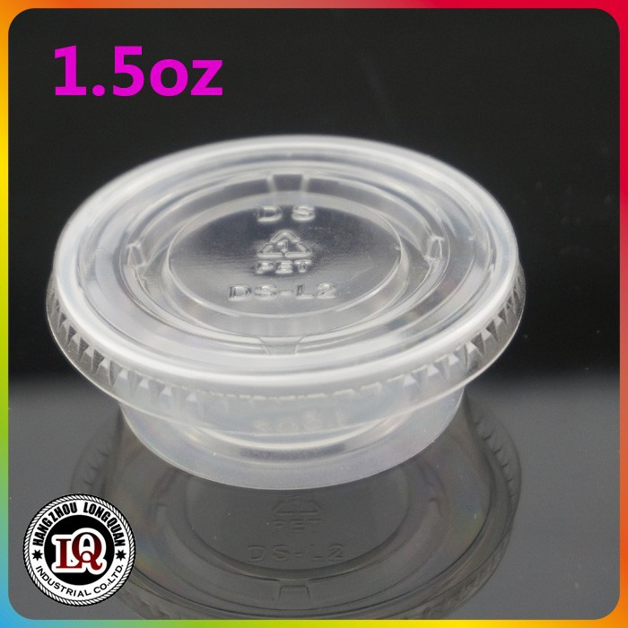 Disposable plastic mini jelly cup