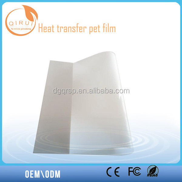 Heat Transfer PET Film hot sell, Chian PET film product supply