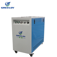 dry cleaning machines use silence cabinet oilless air compressor 3hp