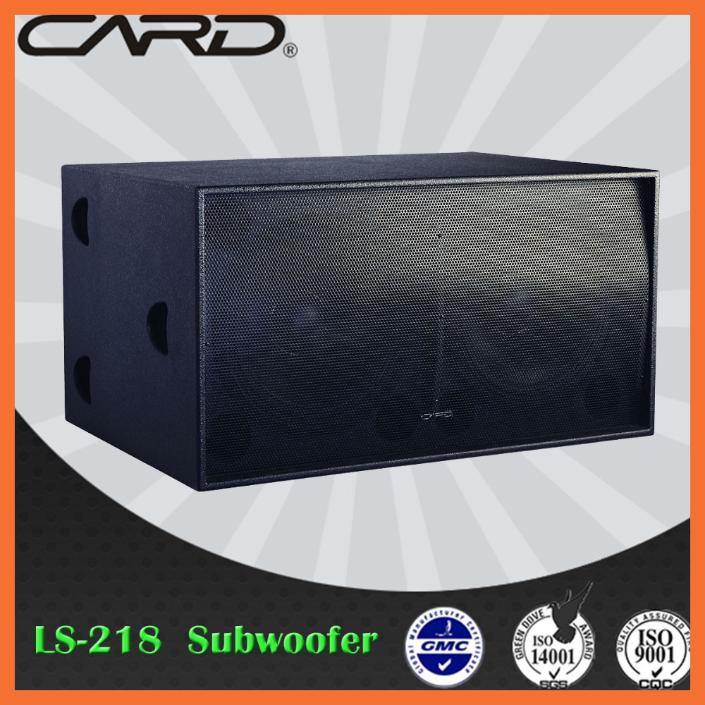 Stage Best Live sound effect Pa big bass subwoofer speakers