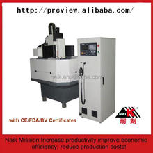 High accuracy cnc jewelry engraving machine / cnc jewelry model making machine 8TC-6060A