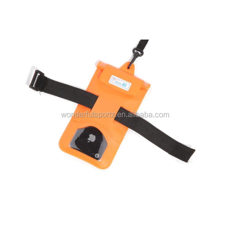 Hot Selling Waterproof Armband Key Holder Smartphone Accesories Pouch Case For phone 6 5S 5C 5