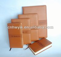 Soft PU Cover B5 Diary Slim Leather Journal Notebook