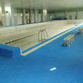 Anti Slip PVC Gravelstone Pattern Swimming Pool and Bathroom Mat Floor with Waterproof Treatment