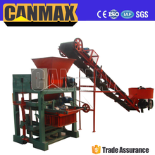 QT4-40B manual hollow block maker/diesel engine block and brick making machine/concrete block machines for sale