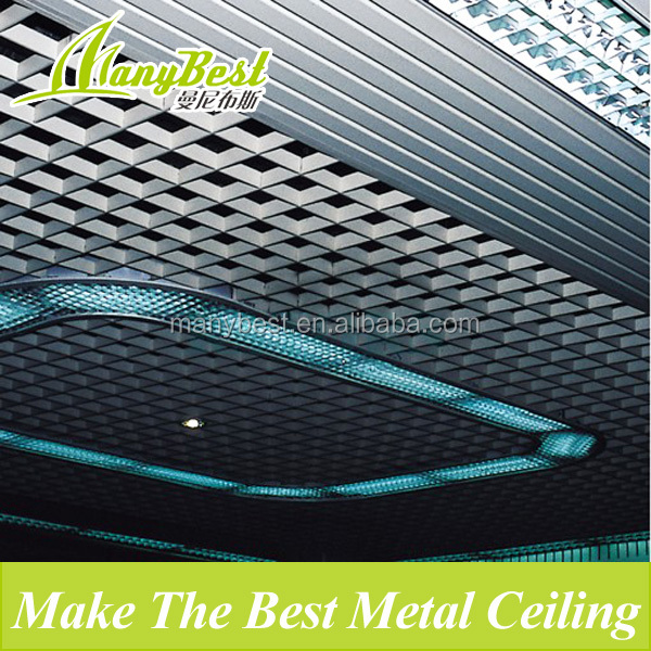 2017 new grate aluminum ceiling tile