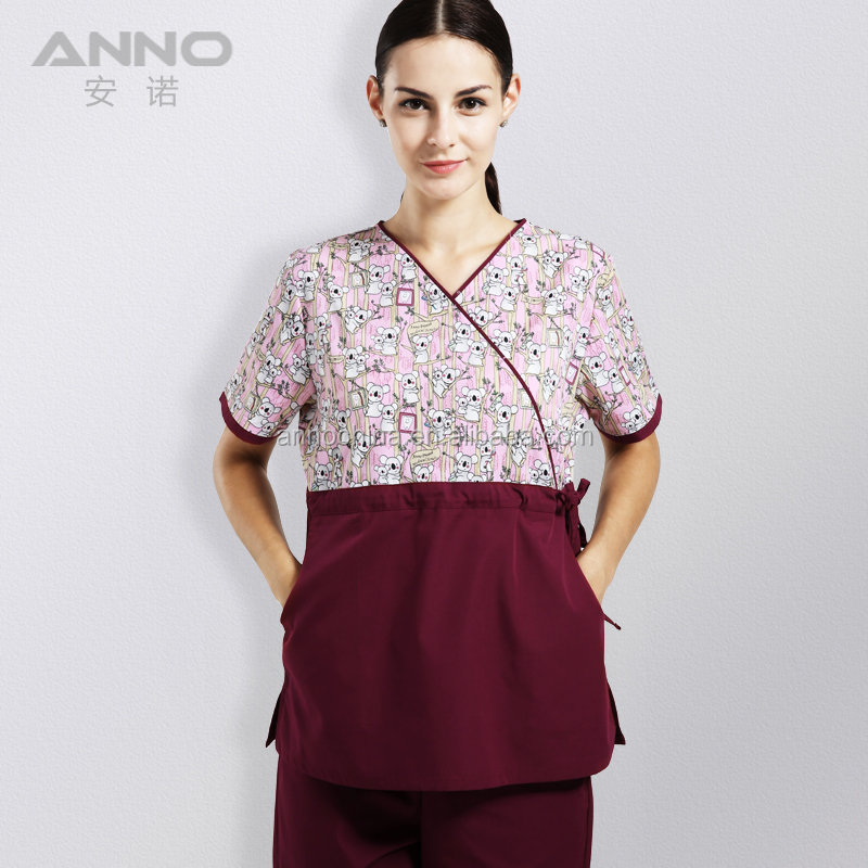Best printed maternity female nurse uniform