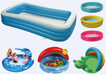 QH-P-15-Family kinds of Inflatable pool for kids and adult