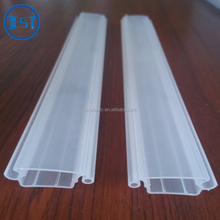 25mm wide milk white scroll door plastic slats