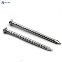 diamond point flat head galvanized hardened concrete stainless steel nail