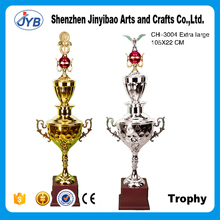 Extra large Football/basketball Sports Gold Metal Trophy Cups