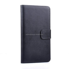 High quality genuine leather phone case flip wallet mobile phone cover for LG G3