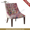 Kantha Fabric Covered Red Upholster Chair