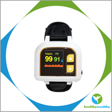 CE and FDA Approved Wrist Fingertip Pulse Digital Oximeter With Alarm for Hospital,Clinic or Home