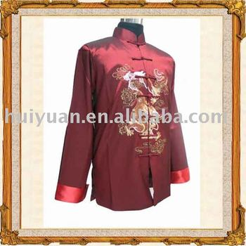 chinese tradition long sleeve man outerwear