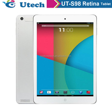 "9.7""tablets quad core Retina screen tablet pc 2048*1536 Retina display tablet ,OTG"